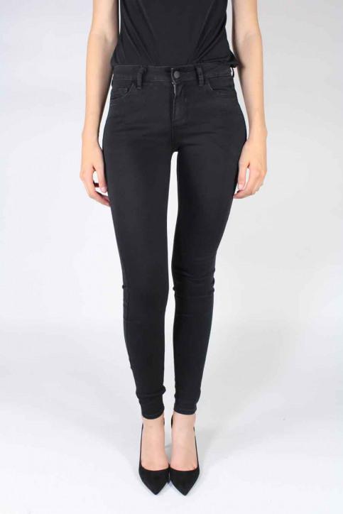 VILA Jeans skinny zwart VICOMMIT 5P SUPER SK_BLACK img1