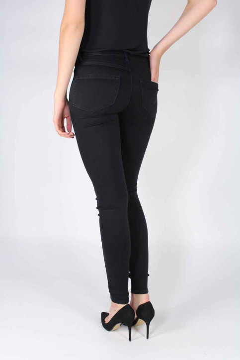 VILA Jeans skinny zwart VICOMMIT 5P SUPER SK_BLACK img3