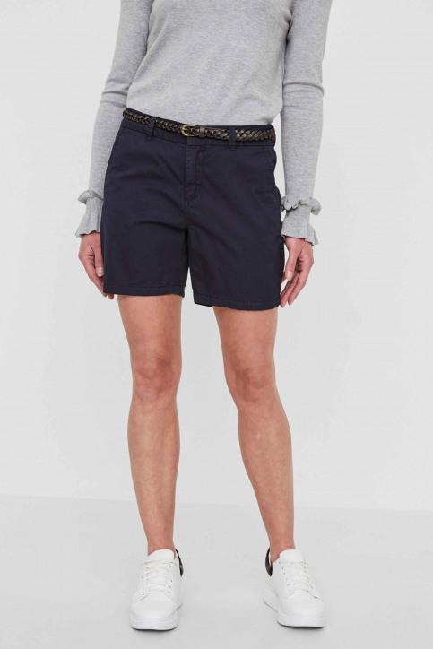 VERO MODA Shorts bleu VMFLAME NW CHINO SHO_NIGHT SKY img1