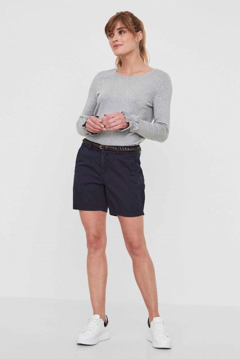 VERO MODA Shorts bleu VMFLAME NW CHINO SHO_NIGHT SKY img6