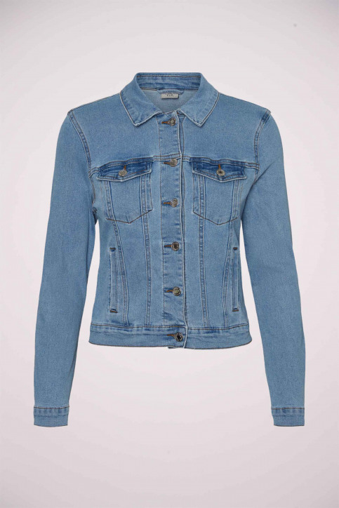 VERO MODA Vestes courtes denim VMHOT SOYA LS DENIM_LIGHT BLUE DENI img6
