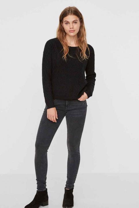 VERO MODA Jeans skinny zwart VMLUX RE FIX LW SKIN_BA038BLACK img1
