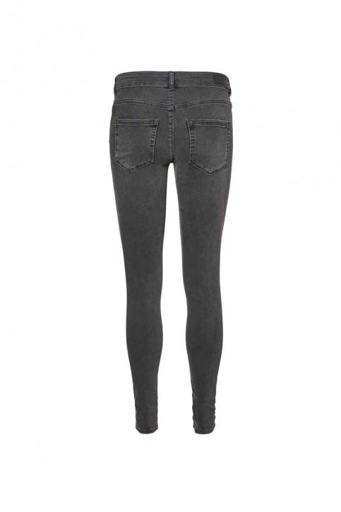 VERO MODA Jeans skinny zwart VMLUX RE FIX LW SKIN_BA038BLACK img3