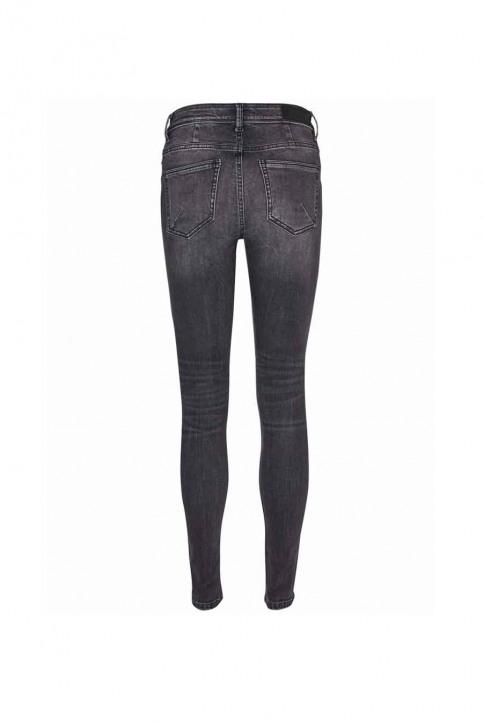 VERO MODA Jeans skinny grijs VMSEVEN NW SS PIPING_AM202BLACK img4