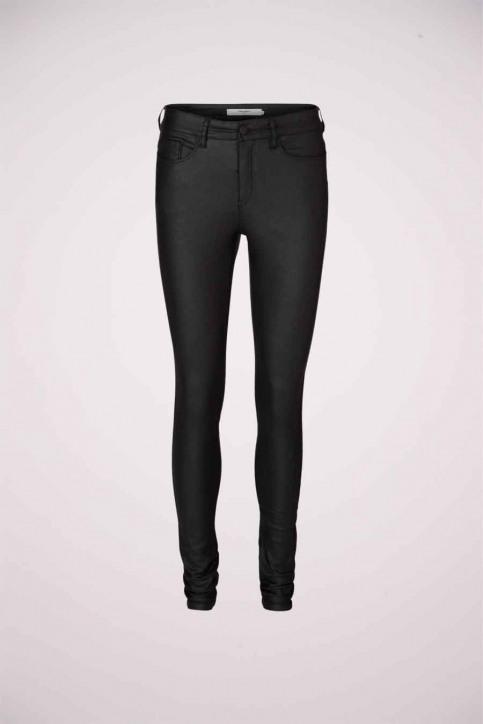 VERO MODA Pantalons noir VMSEVEN NW SS SMOOTH_BLACK img1