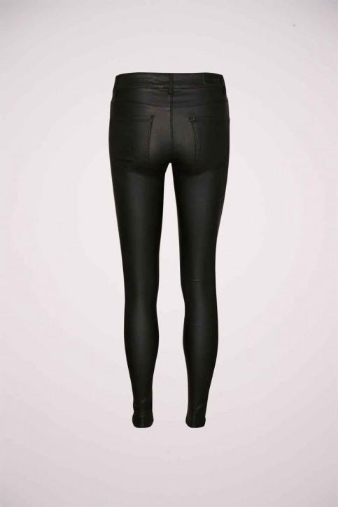 VERO MODA Pantalons noir VMSEVEN NW SS SMOOTH_BLACK img3