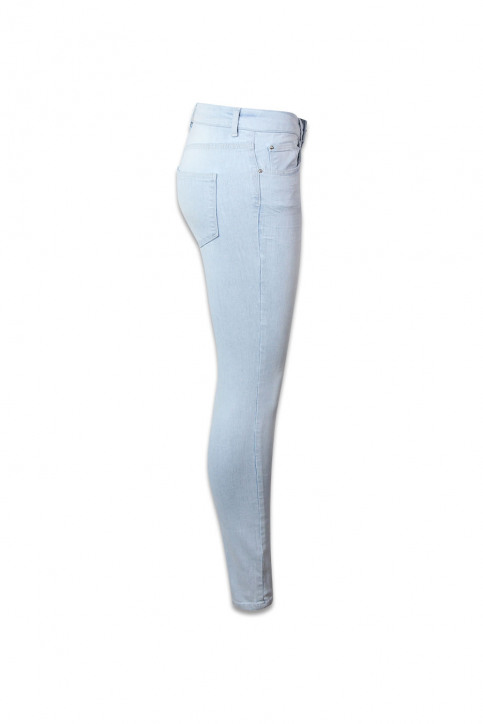 VERO MODA Jeans skinny denim VMSUPER FIX NEW SKIN_LIGHT BLUE DENI img3