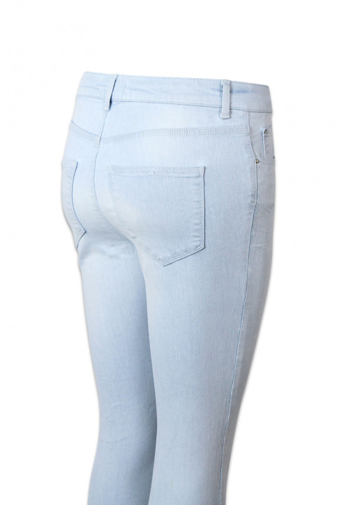 VERO MODA Jeans skinny denim VMSUPER FIX NEW SKIN_LIGHT BLUE DENI img4