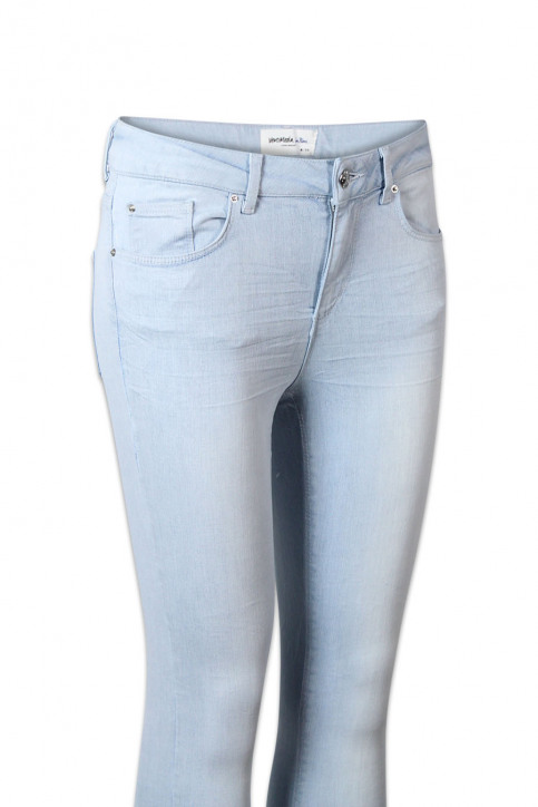 VERO MODA Jeans skinny denim VMSUPER FIX NEW SKIN_LIGHT BLUE DENI img5