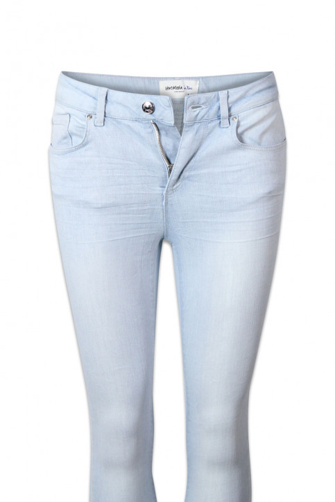 VERO MODA Jeans skinny denim VMSUPER FIX NEW SKIN_LIGHT BLUE DENI img6