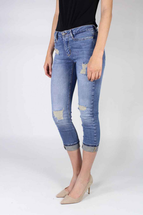 VERO MODA Jeans straight denim VMWONDER NW STRAIGHT_LIGHT BLUE DENI img1