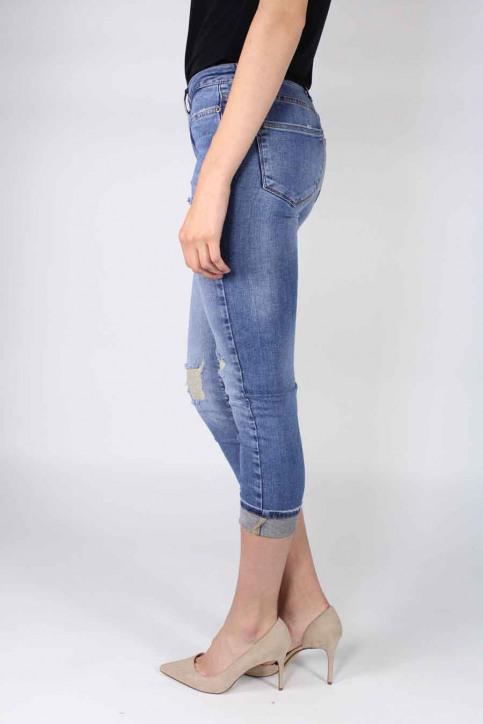 VERO MODA Jeans straight denim VMWONDER NW STRAIGHT_LIGHT BLUE DENI img2