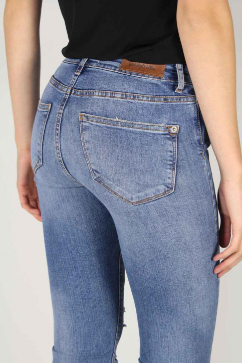 VERO MODA Jeans straight denim VMWONDER NW STRAIGHT_LIGHT BLUE DENI img4
