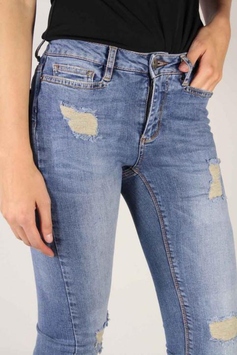 VERO MODA Jeans straight denim VMWONDER NW STRAIGHT_LIGHT BLUE DENI img5