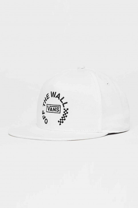 """VANS """"OFF THE WALL"""" Casquettes blanc VN0A3I1BWHT1_WHITE img1"""