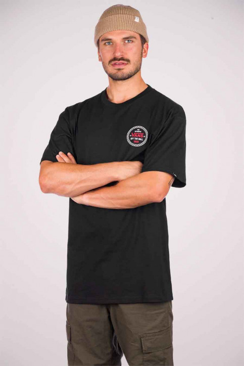 """VANS """"OFF THE WALL"""" T-shirts (manches courtes) noir VN0A4ROBBLK1_BLK1 BLACK img1"""