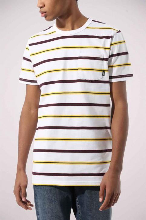 Vans T-shirts (korte mouwen) wit VN0A4TR2WHT1_WHT1 WHITE img1