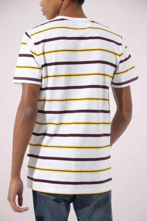 Vans T-shirts (manches courtes) blanc VN0A4TR2WHT1_WHT1 WHITE img2