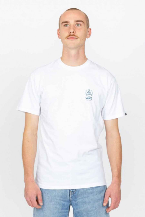 """VANS """"OFF THE WALL"""" T-shirts (korte mouwen) wit VN0A54CCWHT1_WHT1 WHITE img2"""