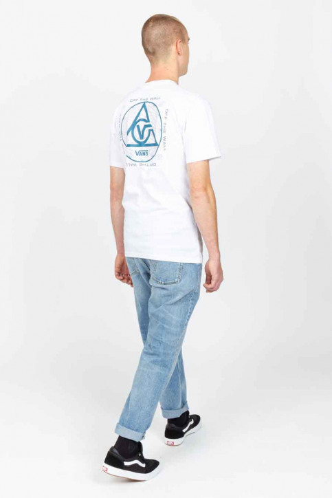 """VANS """"OFF THE WALL"""" T-shirts (korte mouwen) wit VN0A54CCWHT1_WHT1 WHITE img4"""