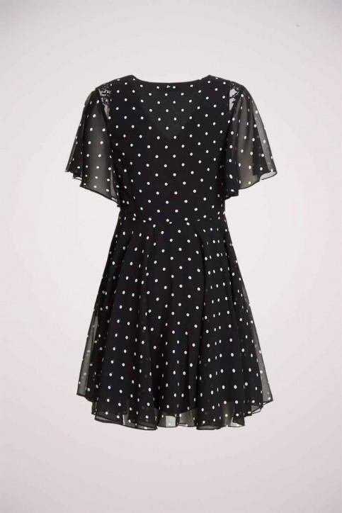 GUESS Robes 3/4 noir W0YK1CW8SL2_PL94 BLACK WH S img2