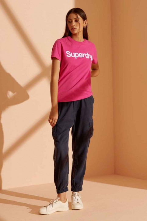 SUPERDRY T-shirts (manches courtes) rose W1010219A_MME HOT PINK img2