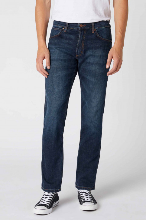 Wrangler® Jeans straight denim W15Q8343C_DARK BLUE img1