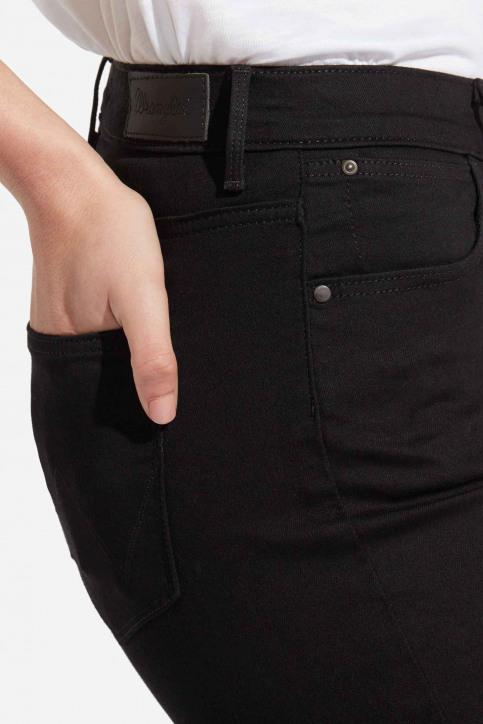 Wrangler® Jeans skinny noir W27HLX023_RINSE img4