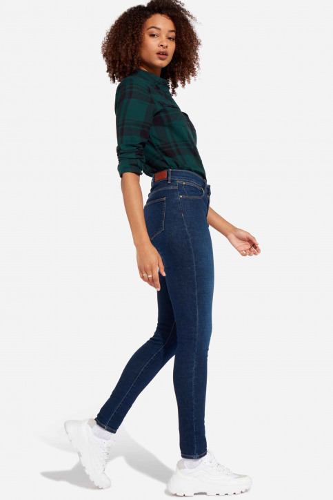 Wrangler® Jeans skinny denim W27HVH78Y_NIGHT BLUE DARK img2