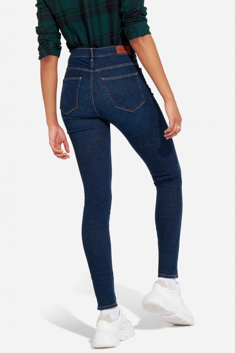Wrangler® Jeans skinny denim W27HVH78Y_NIGHT BLUE DARK img3
