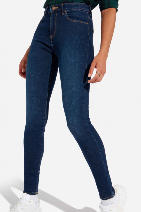 Wrangler® Jeans skinny denim W27HVH78Y_NIGHT BLUE DARK img4