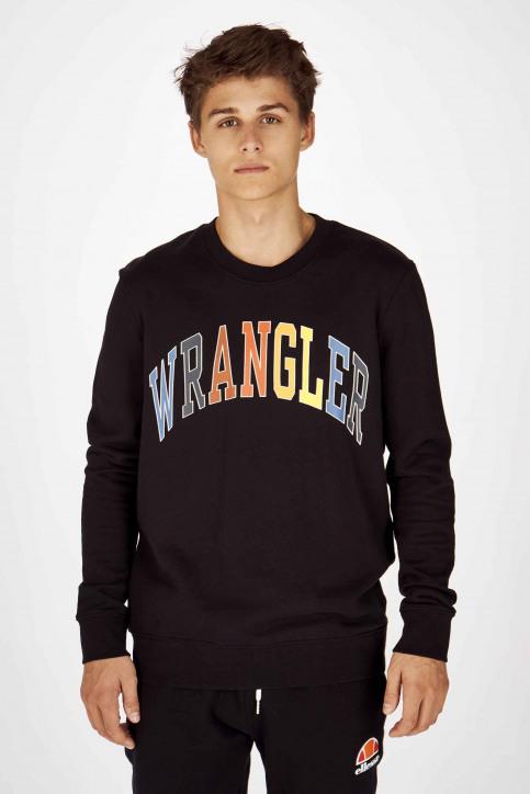 Wrangler Sweats col O noir W6B6HY100_BLACK img1