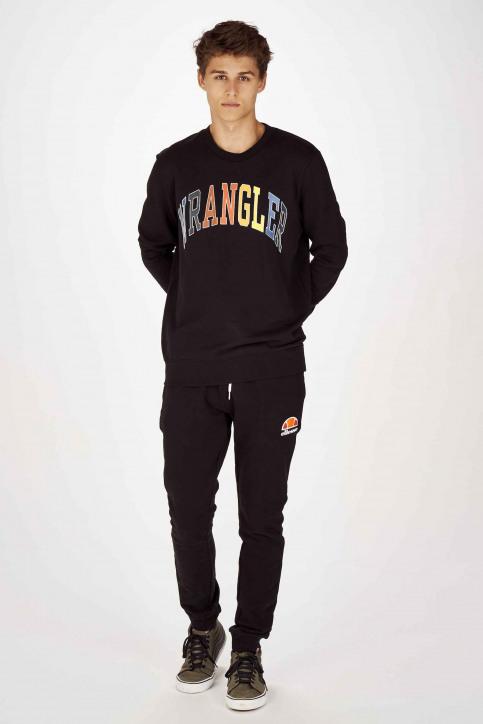 Wrangler Sweats col O noir W6B6HY100_BLACK img2
