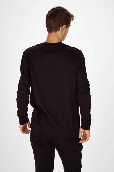 Wrangler Sweats col O noir W6B6HY100_BLACK img3