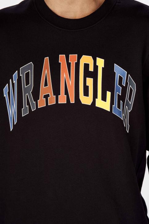 Wrangler Sweats col O noir W6B6HY100_BLACK img4