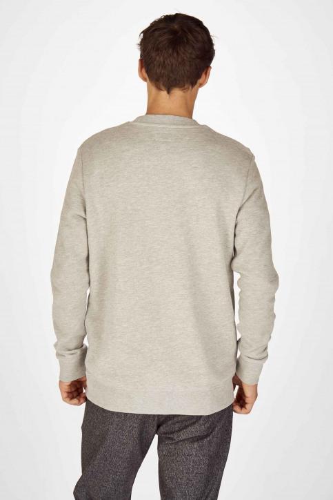 Wrangler Sweaters met ronde hals grijs W6B6HYX37_MID GREY img3