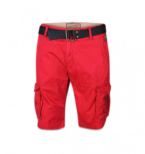Petrol Shorts rood WAMOSS16SHO470_361 FIRE RED img1