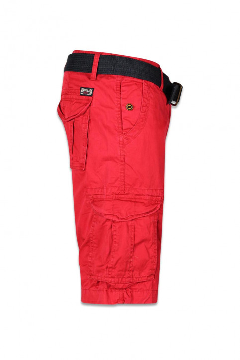 Petrol Shorts rood WAMOSS16SHO470_361 FIRE RED img3