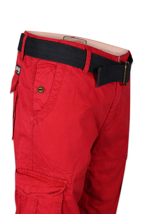 Petrol Shorts rood WAMOSS16SHO470_361 FIRE RED img6