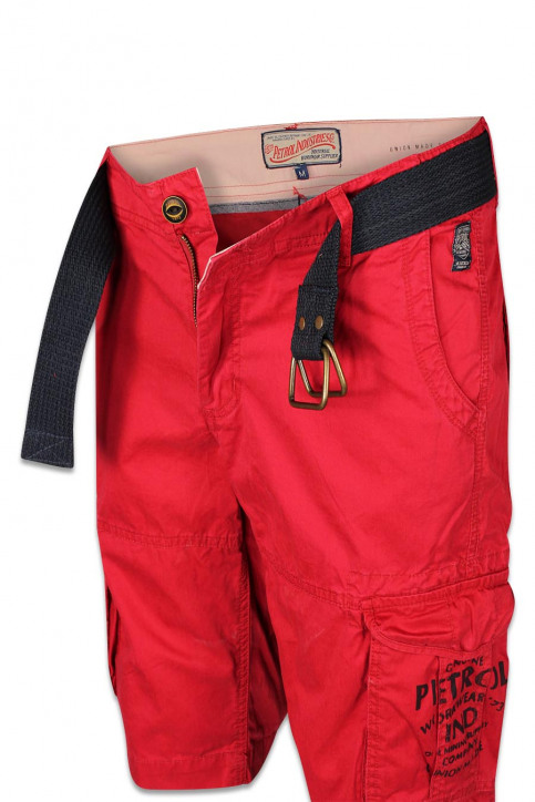 Petrol Shorts rood WAMOSS16SHO470_361 FIRE RED img7