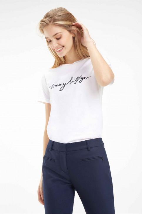 Tommy Jeans Tops uni manche courte blanc WW0WW24967100_100 CLASSIC WHI img1