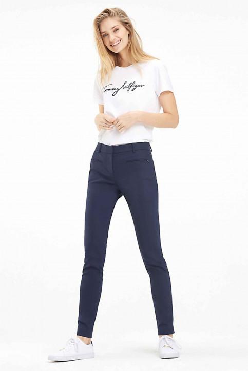 Tommy Jeans Tops uni manche courte blanc WW0WW24967100_100 CLASSIC WHI img2