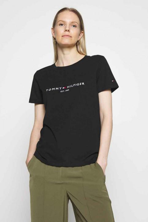 Tommy Jeans T-shirts (manches courtes) noir WW0WW28681BDS_BDS BLACK img1