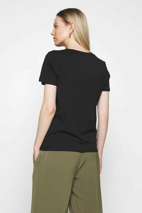 Tommy Jeans T-shirts (manches courtes) noir WW0WW28681BDS_BDS BLACK img2