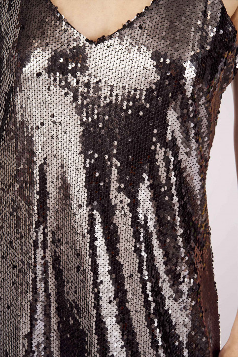 Hailys Robes courtes noir XL1902047_BLACK img4