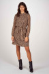 More & More Robes courtes brun 01093000_4269 CHOCOMULTI img1