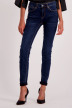 VERO MODA Jeans skinny denim 10158330_DARK BLUE DENIM img1
