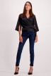 VERO MODA Jeans skinny denim 10158330_DARK BLUE DENIM img2