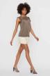 VERO MODA® Blouses (zonder mouwen) grijs 10196238_BUNGEE CORD img2