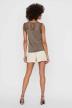 VERO MODA® Blouses (zonder mouwen) grijs 10196238_BUNGEE CORD img3